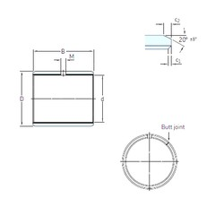 SKF PCM 081010 E plain bearings