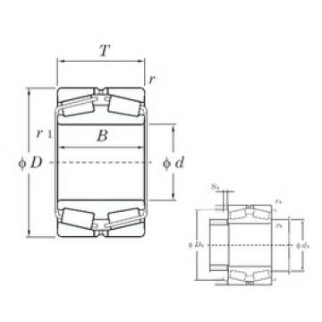 KOYO 45324 tapered roller bearings