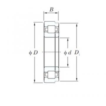 KOYO NUP314R cylindrical roller bearings