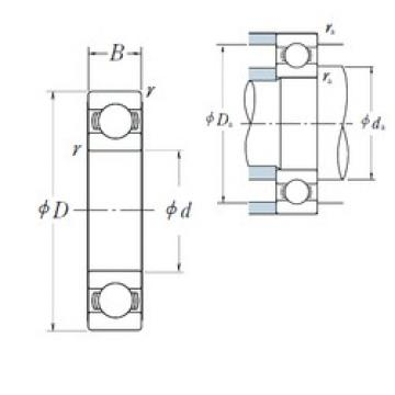 NSK 6019 deep groove ball bearings