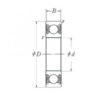 NSK 6310DDU deep groove ball bearings